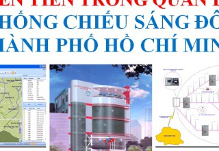 Application of Science and Technology in the management of advanced lighting systems urban Ho Chi Minh City