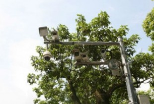 Hanoi installed security cameras to monitor traffic