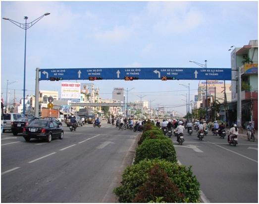Tru cong chao Truong Chinh
