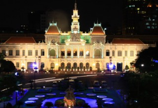 Enhancing the art in public lighting system HCM City